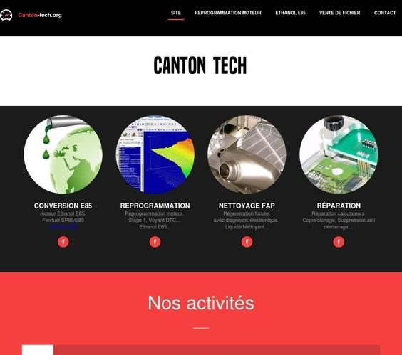 Ancien site Canton tech - reprogrammation