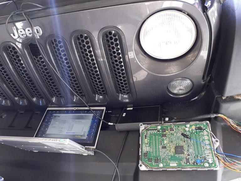 reprogrammation flexfuel ethanol E85 Jeep Wrangler 2017